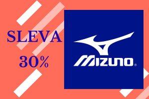 Sleva 30% na výrobky Mizuno